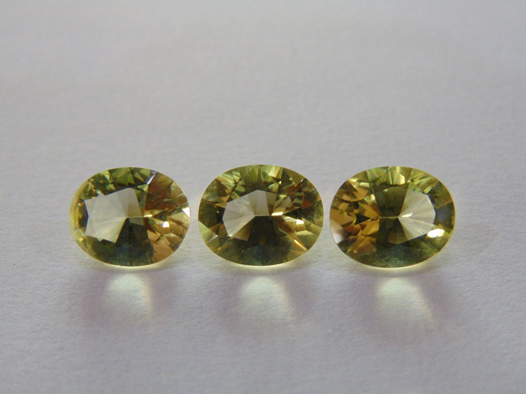 8.60ct Green Gold