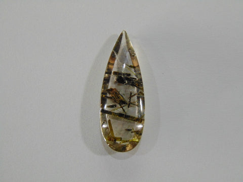 28.30ct Quartz (Epidote)