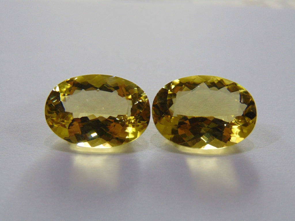 26.20ct Quartz (Green Gold)