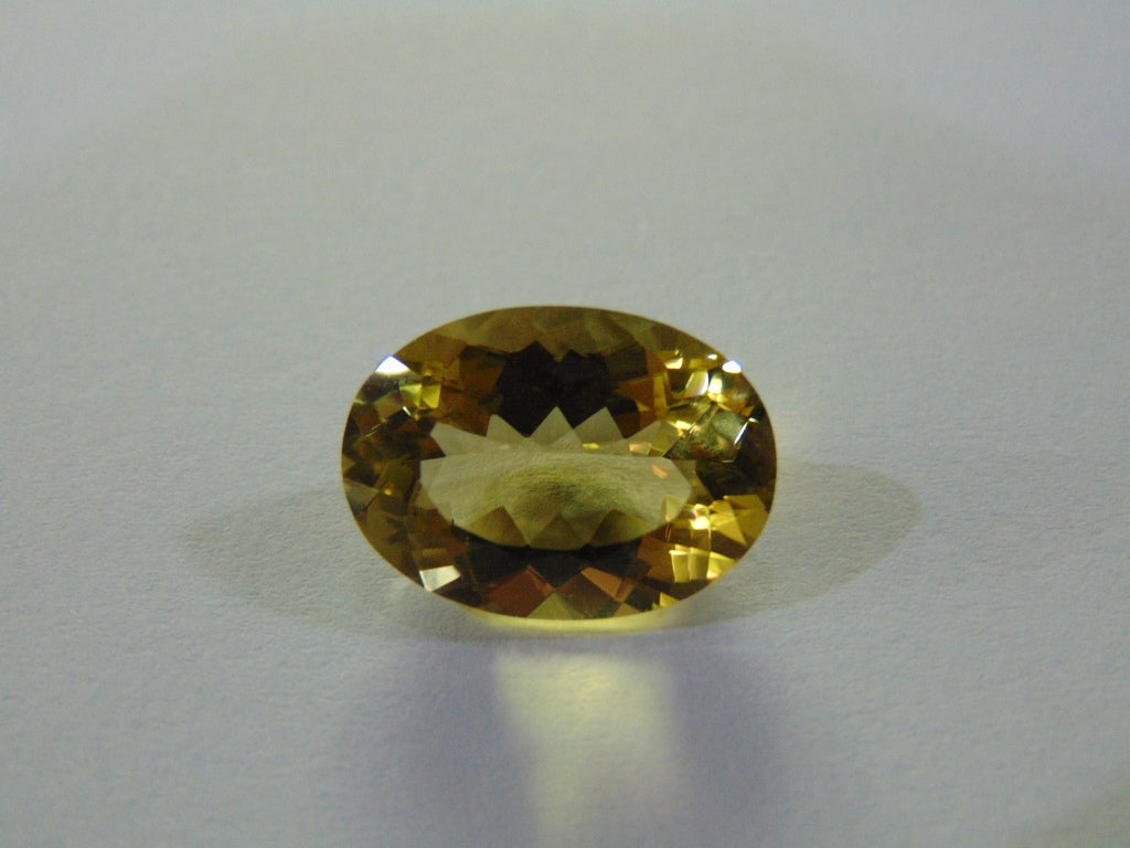 14.30ct Quartz (Green Gold)