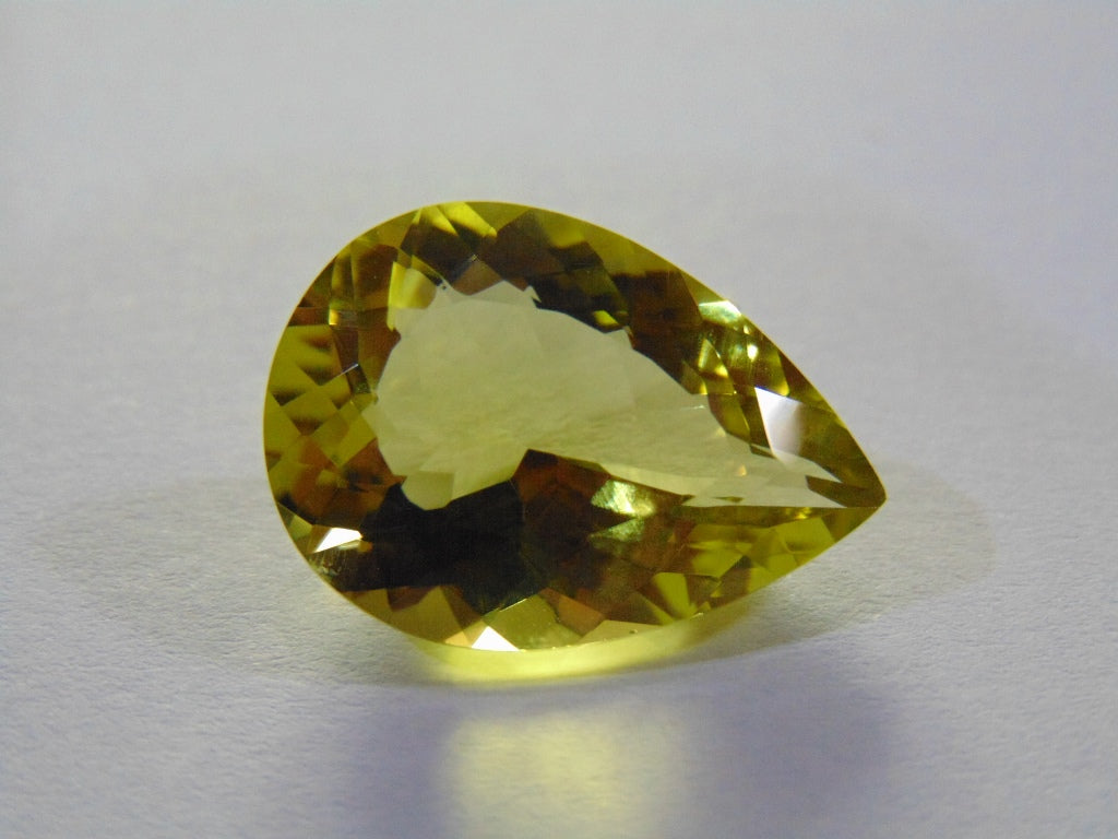 17ct Quartz (Green Gold)