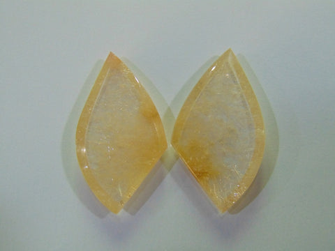 145.50ct Rutile (Golden) Pair