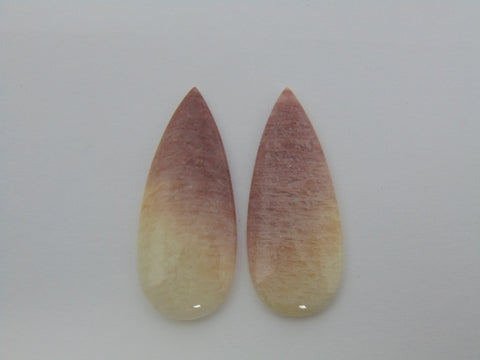 39.60cts Amazonite (Bicolor) Pair