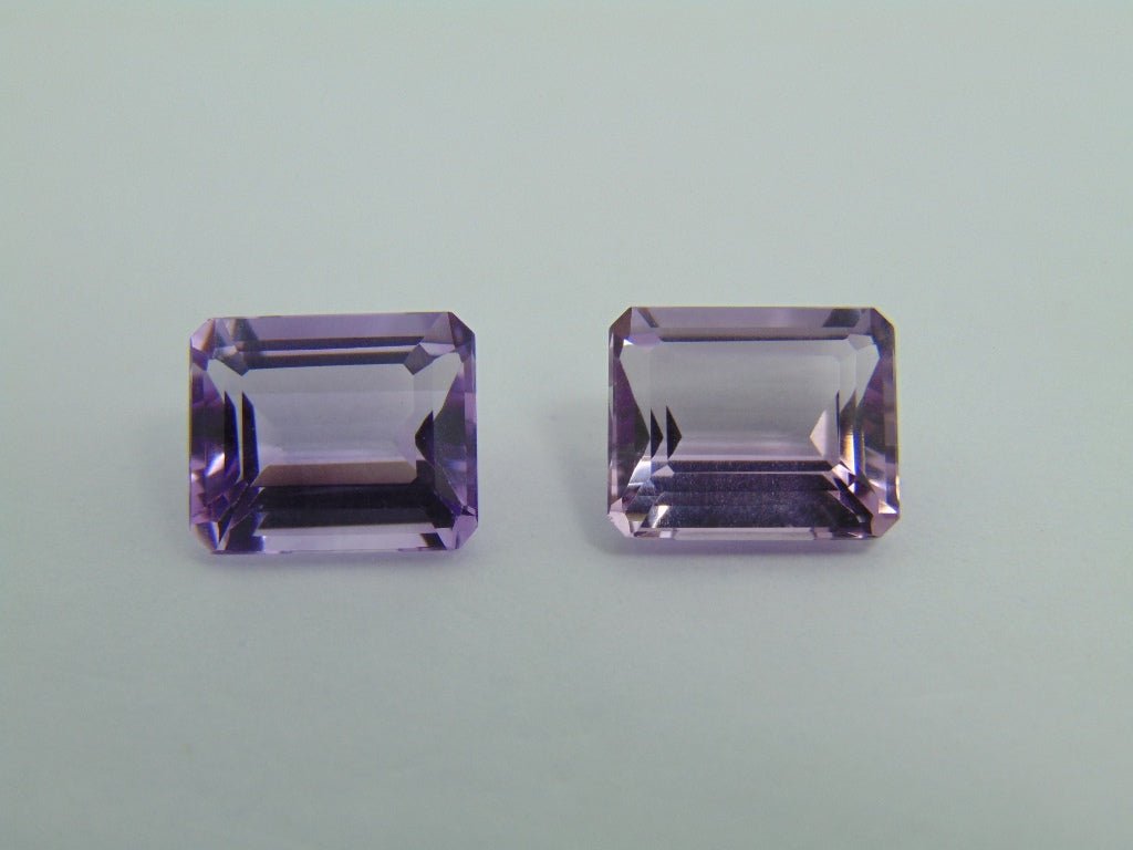 8.70cts Amethyst (Pair)