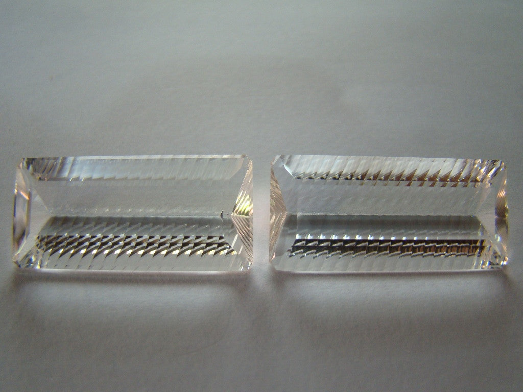 48ct Quartz (Crystal) Pair