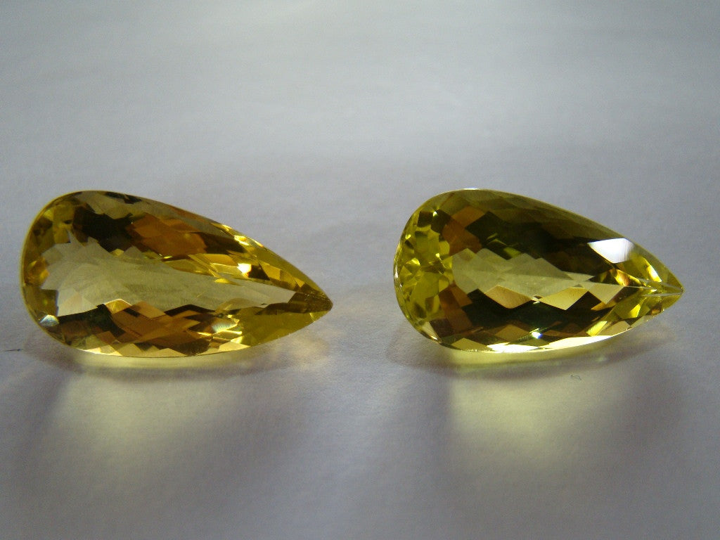 28ct Green Gold (Pair)