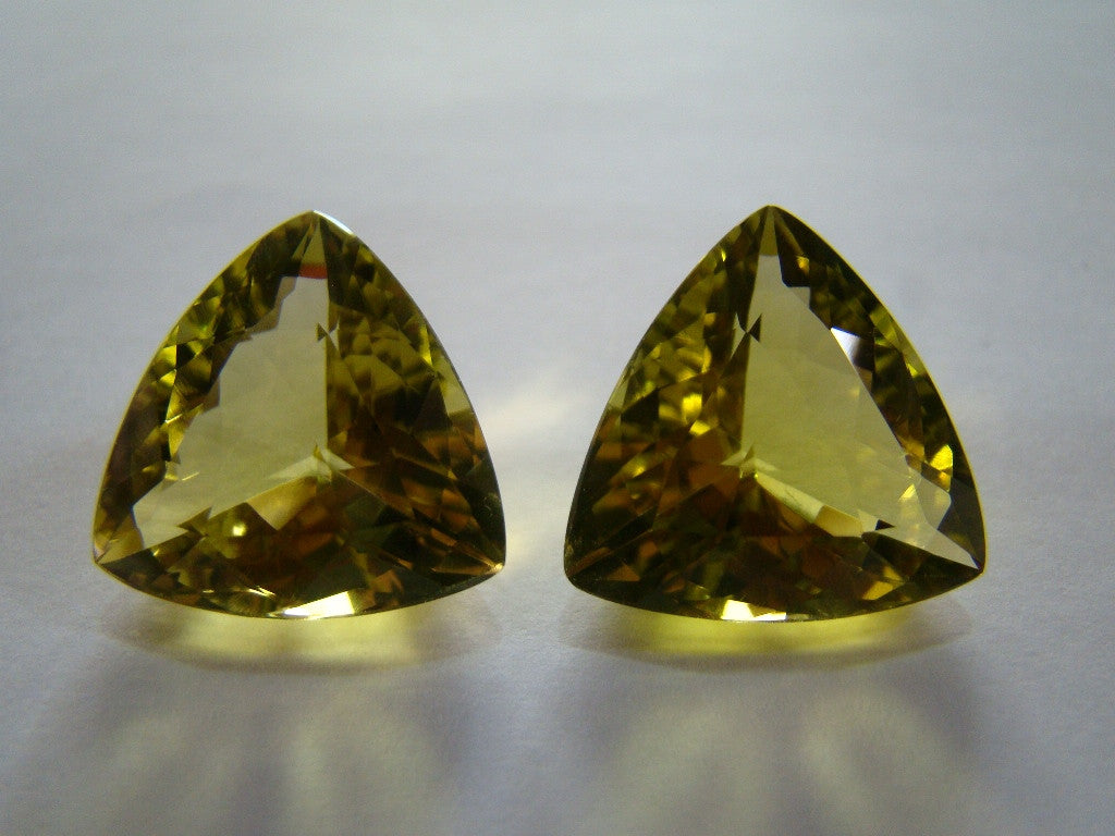 37.50ct Green Gold (Pair)