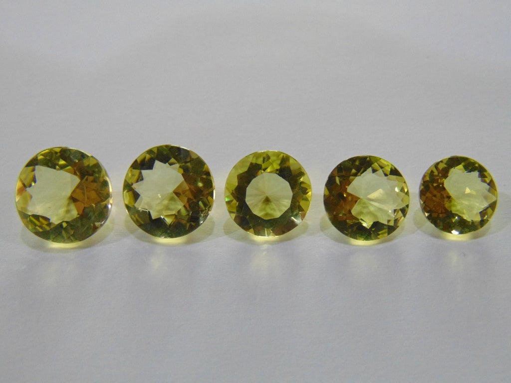 29.50ct Quartz Green Gold