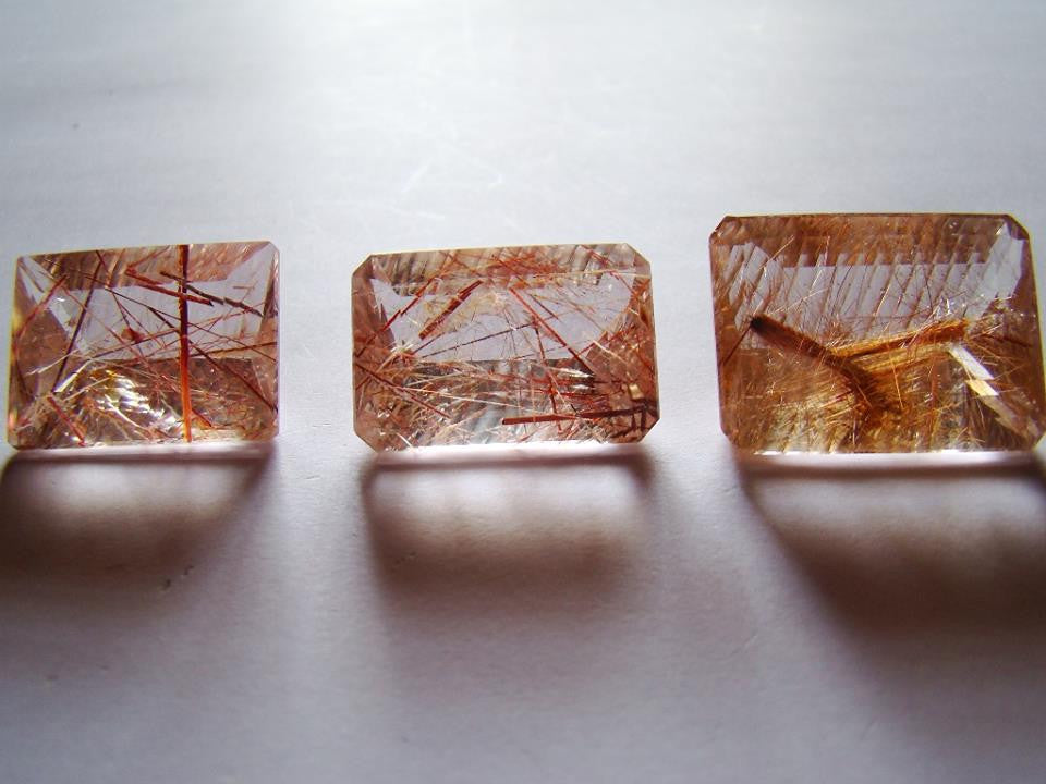 214ct Rutile (Red) Clean Faceted