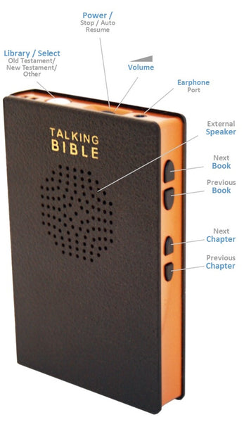 Talking Bible Model TB300