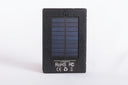 The Solar Talking Bible has a solar panel in the back
