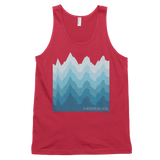 The mountains are calling classic tank top (unisex)