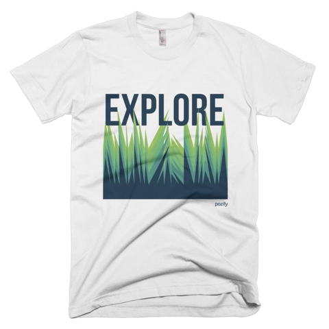 Explore short sleeve men's t-shirt