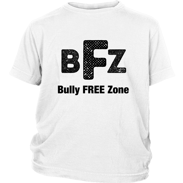 Bully-free zone White Tee