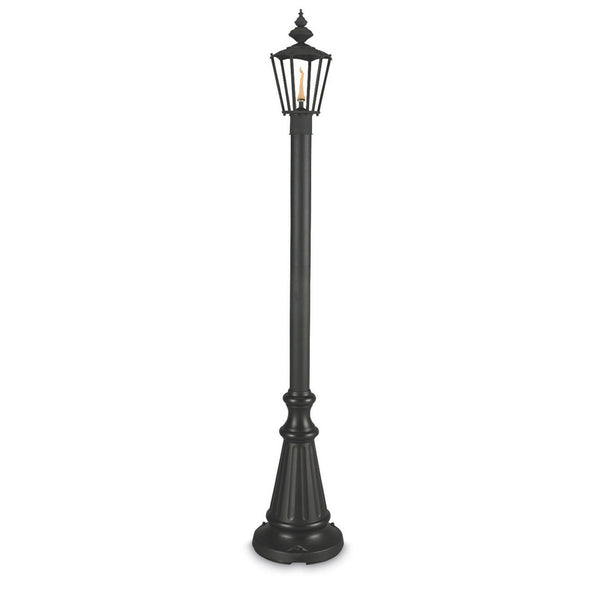 Islander Citronella Single Flame Patio Lantern - The Backyard Bartender