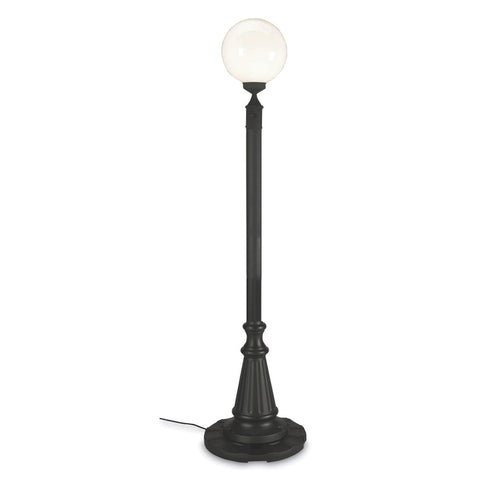 European Single Globe Lantern Patio Lamp - The Backyard Bartender