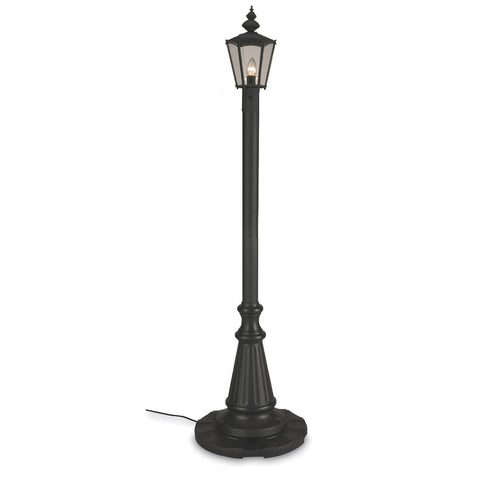 Cambridge Single Lantern Patio Lamp - The Backyard Bartender
