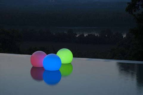 GardenGlo LED Color Changing Floating Orb - The Backyard Bartender