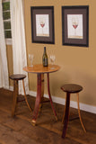 Napa East Wine Head Pub Table Set - The Backyard Bartender