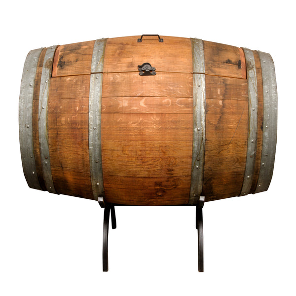 Napa East Outdoor Wine Barrel Ice Chest - The Backyard Bartender