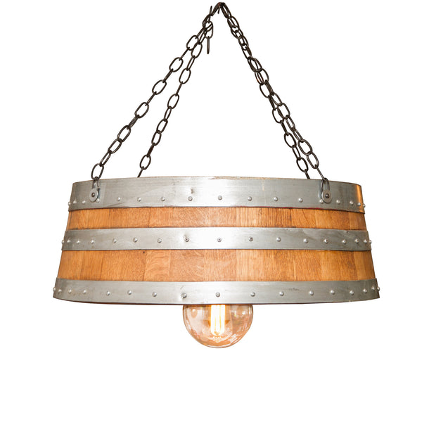 Napa East Top of the Barrel Hanging Lamp 1061 - The Backyard Bartender