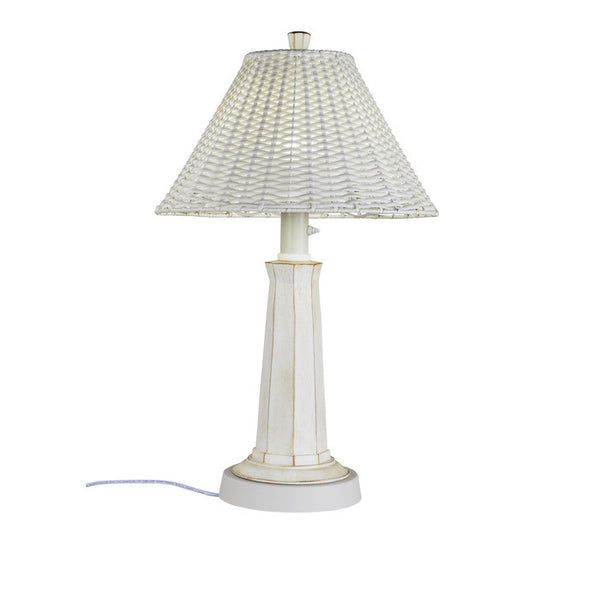 Nantucket Outdoor Table Lamp - The Backyard Bartender