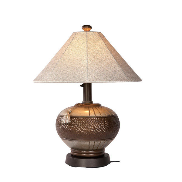 Phoenix Bronze Outdoor Table Lamp - The Backyard Bartender