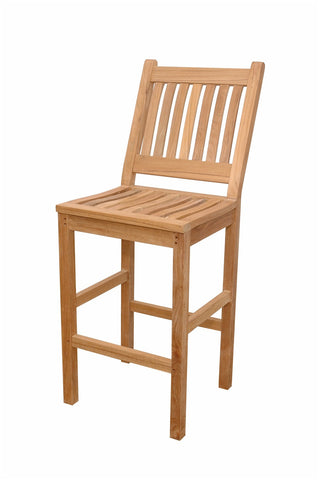 Anderson Teak Avalon Bar Chair CHB-017N - The Backyard Bartender