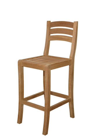 Anderson Teak Mandalay Bar Chair CHB-100 - The Backyard Bartender
