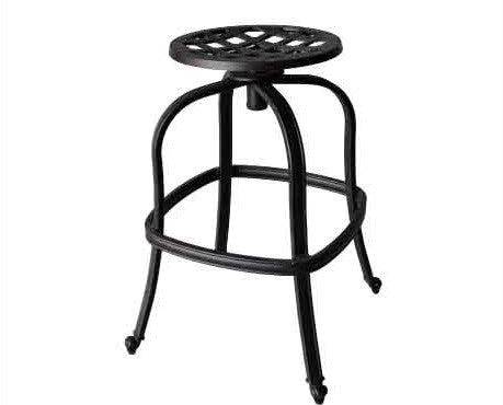 Elizabeth Armless Barstool with Cushion - The Backyard Bartender