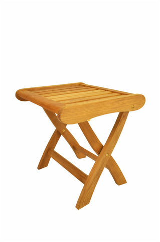 Anderson Teak Katana Foot Stool FS-120 - The Backyard Bartender