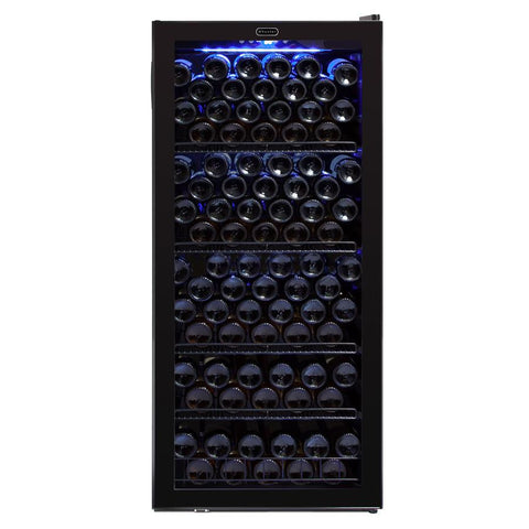 Whynter 124 Bottle Freestanding Wine Cabinet Refrigerator - The Backyard Bartender