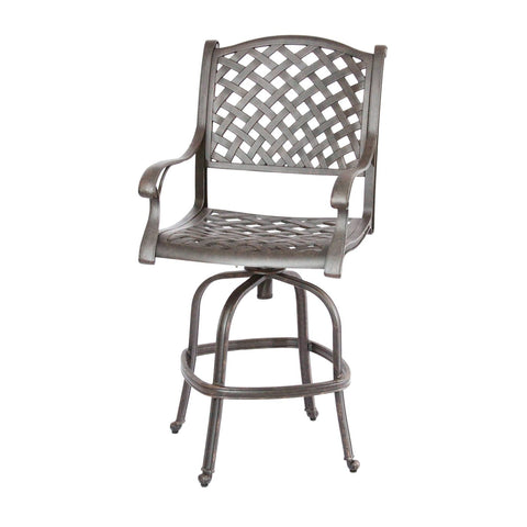 Nassau Swivel Bar Chair - The Backyard Bartender