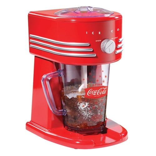 Nostalgia Coca-Cola Series Frozen Beverage Maker FBS400COKE - The Backyard Bartender