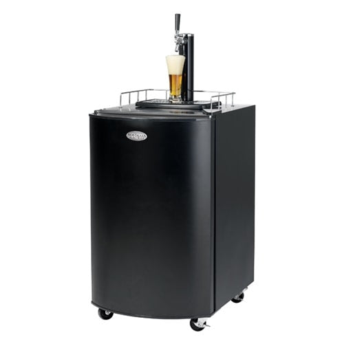 Nostalgia Electrics Kegorator Black - KRS21003A - The Backyard Bartender