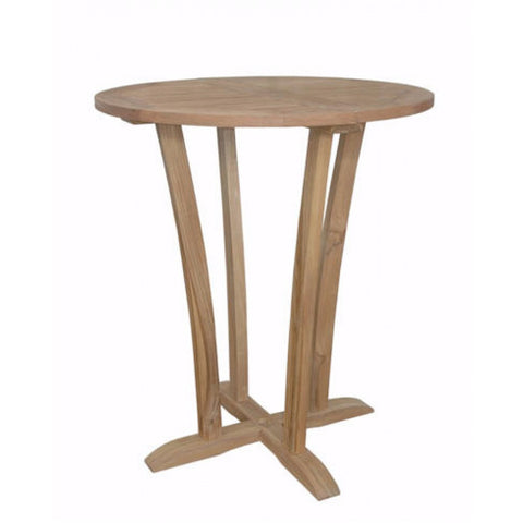 Anderson Teak Descanso Bar Table TB-3590BT - The Backyard Bartender