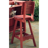 Uwharrie Chair Companion  Series Outdoor Bar Chair - The Backyard Bartender