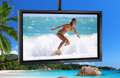 "Apollo® Outdoor AE5550 Weatherproof LCD TV Enclosure, 50"" to 55"" - The Backyard Bartender"