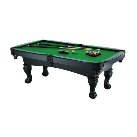 Fat Cat 7 Foot Kansas Billiards Table with Ball and Claw Legs - The Backyard Bartender
