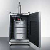 Summit Outdoor Stainless Steel Kegerator SBC678OS - The Backyard Bartender