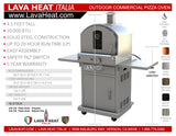 LHI-123 - Pizza Oven - Natural Gas - The Backyard Bartender