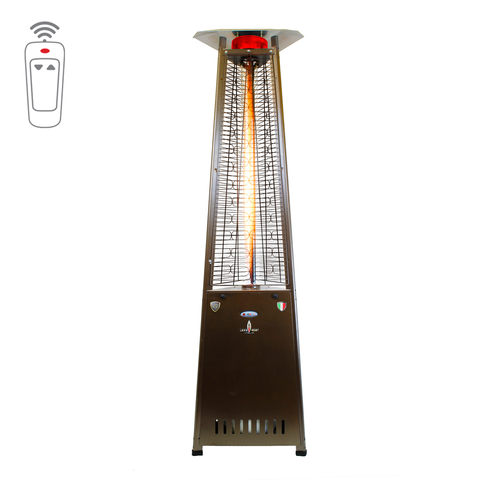 LHI-126 Patio Heater - Heritage Bronze - Natural Gas - The Backyard Bartender