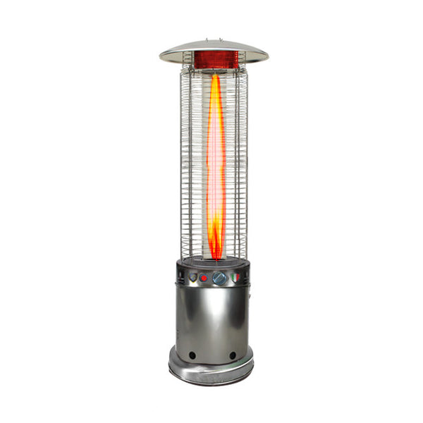 LHI-152 Patio Heater - Stainless Steel - Natural Gas - The Backyard Bartender