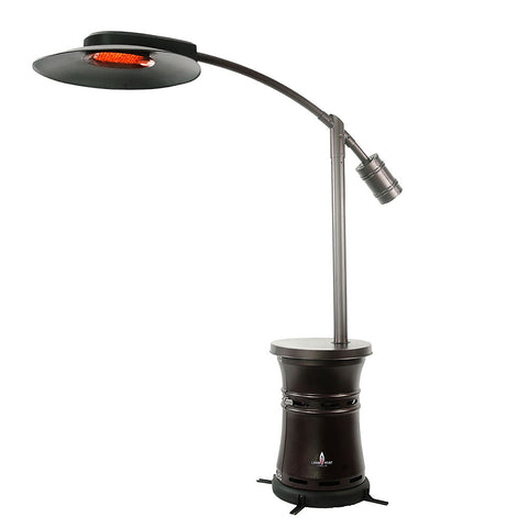 LHI-166 Patio Heater - Heritage Bronze - Natural Gas - The Backyard Bartender