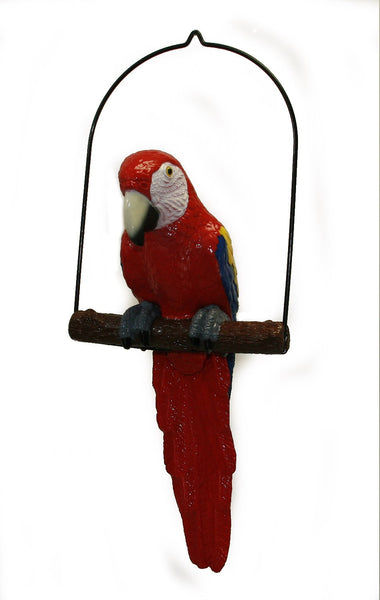 "24"" Red Scarlet Macaw - The Backyard Bartender"