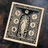 Lamiarum Unguenta screen print