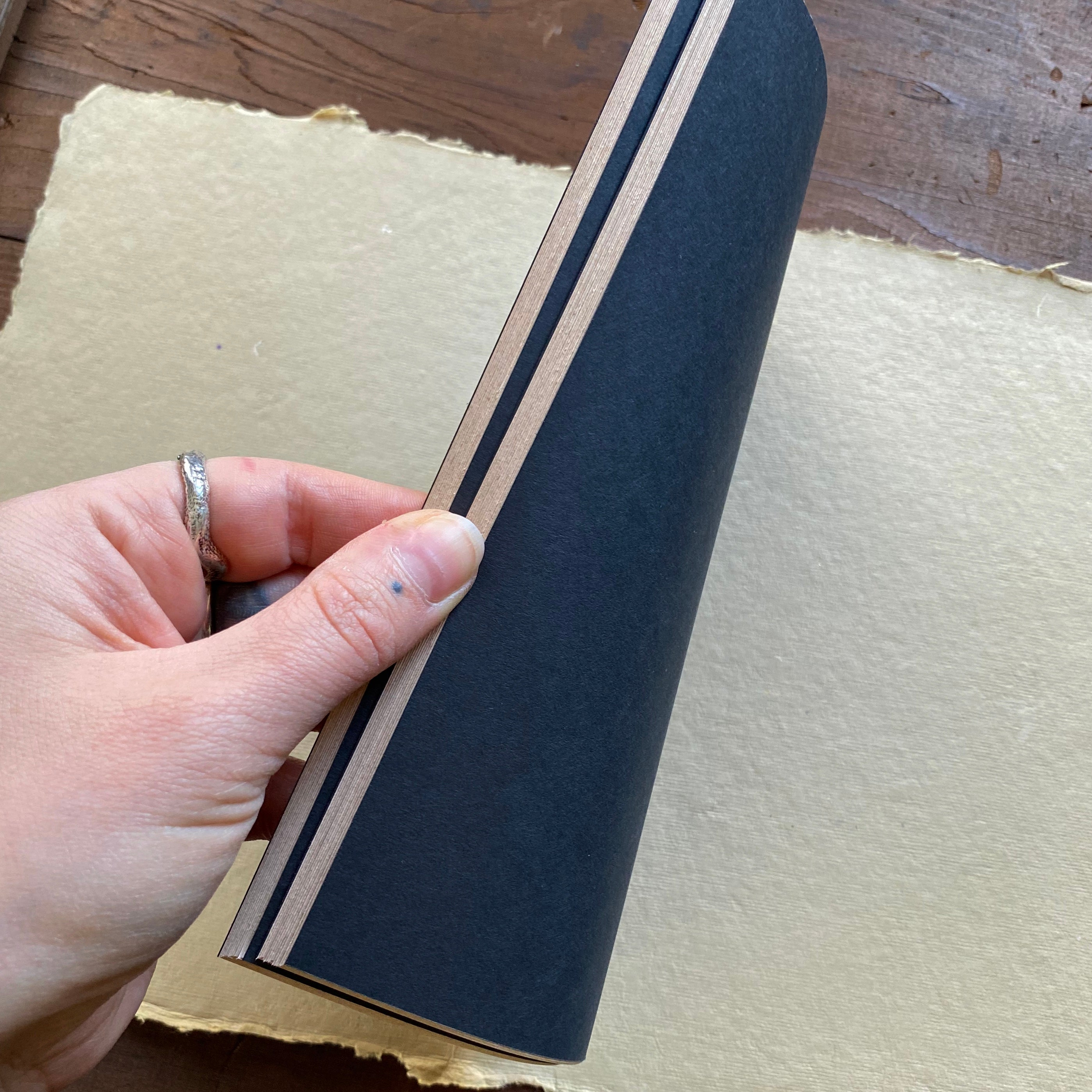 Studio Sorcery blank handmade journal