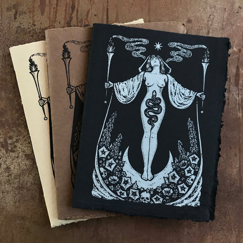Hecate's Garden handmade journal