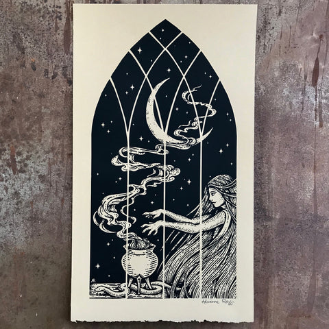 Spellcraft screen print
