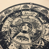 Wheel of Beltane screen print